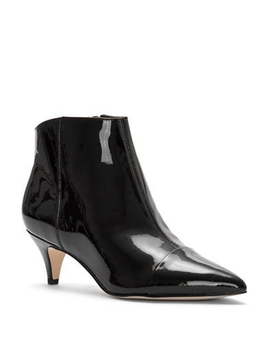 Sam Edelman Kinsey Patent Leather Booties-BLACK-8.5