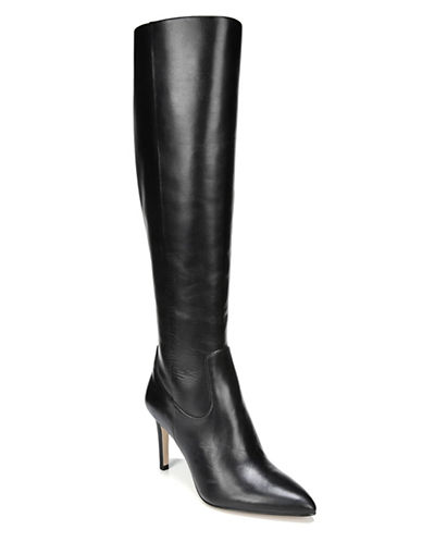 Sam Edelman Olencia Leather Knee-High Boots-BLACK-9.5