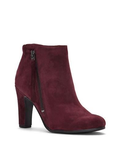 Sam Edelman Sadie Block Heel Leather Booties-MALBEC-9.5