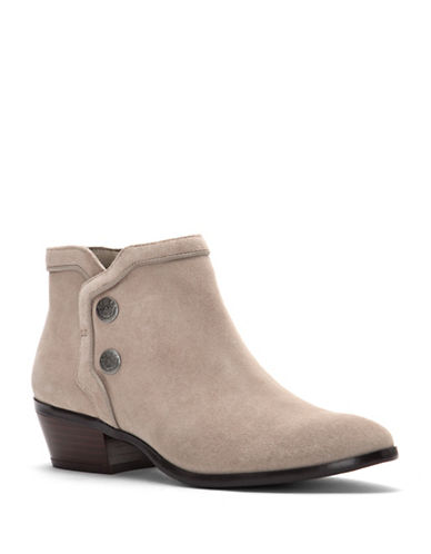 Sam Edelman Pacer Suede Booties-PUTTY-5