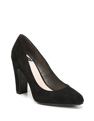 Fergalicious Selena Single-Sole Pumps-BLACK-9.5