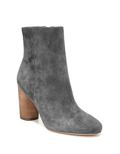 Sam Edelman Corra Suede Booties-GREY-8.5