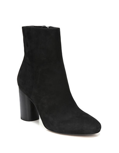 Sam Edelman Corra Suede Booties-BLACK-10