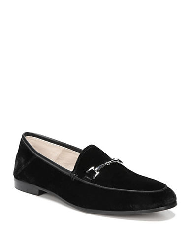 Sam Edelman Loraine Loafers-BLACK VELVET-5