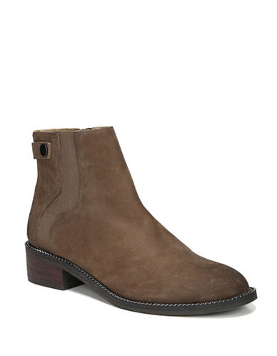 Franco Sarto Brandy Leather Booties-MUSHROOM-7