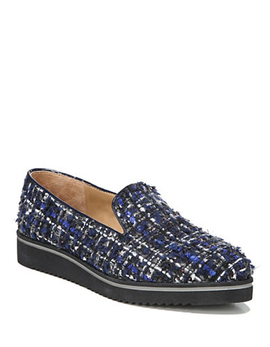 Franco Sarto Fabrina Casual Slip-On Sneakers-BLUE-9