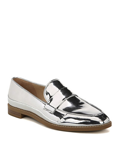 Franco Sarto Hudley Loafers-SILVER-6.5