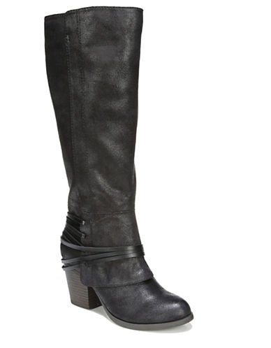 Fergalicious Lexis Knee-High Boots-BLACK-8.5