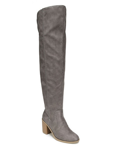 Fergalicious Dina Over-The-Knee Boots-DENIM-7