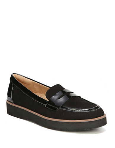 Naturalizer Zoren Loafers-BLACK PATENT-5