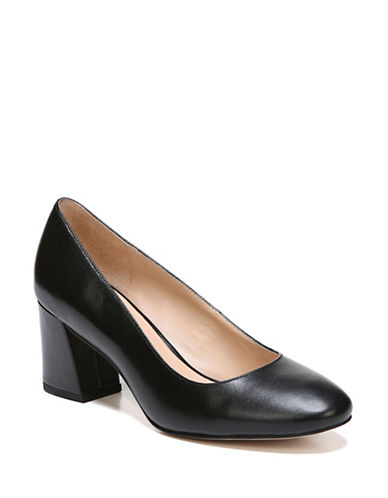 Franco Sarto Sidney Closed Toe Pumps-BLACK-7.5