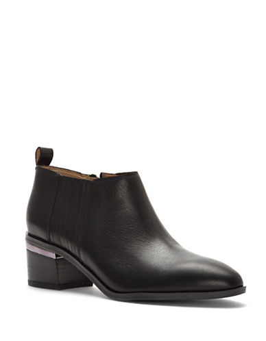 Franco Sarto Aberdale Ankle Boots-BLACK-9.5