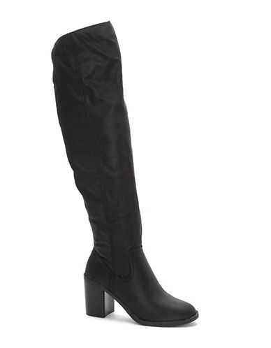 Fergalicious Dina Over-The-Knee Boots-BLACK-5.5