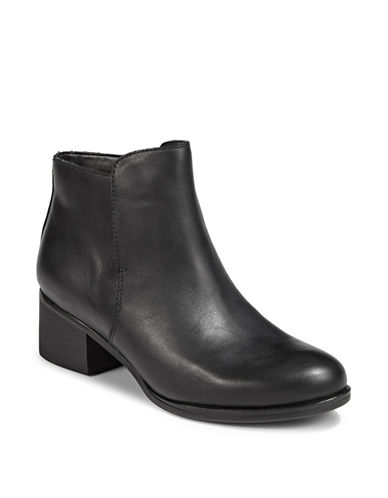 Naturalizer Dawson Classic Booties-BLACK-5.5