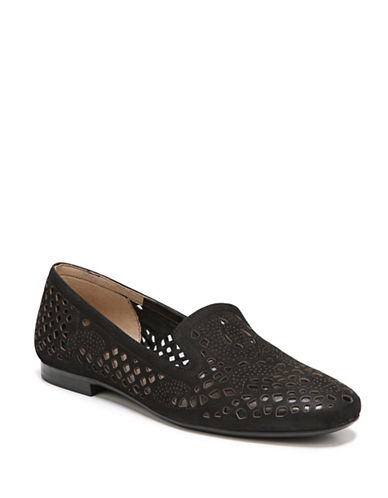 Naturalizer Cutout Round-Toe Loafers-BLACK-7.5