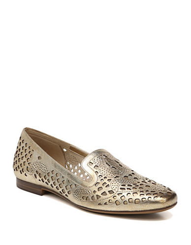Naturalizer Cutout Round-Toe Loafers-LIGHT GOLD-5.5
