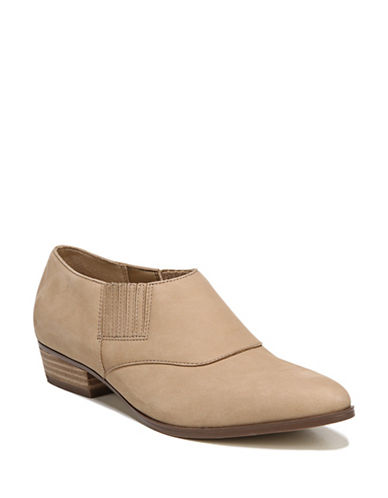 Naturalizer Blythe Leather Ankle Boots-BARLEY-6.5