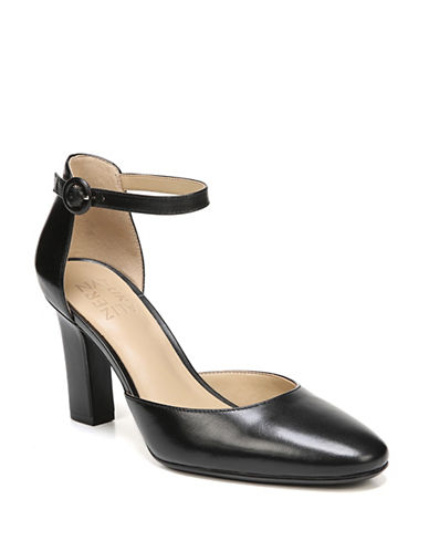 Naturalizer Gianna Leather Pumps-BLACK-8.5