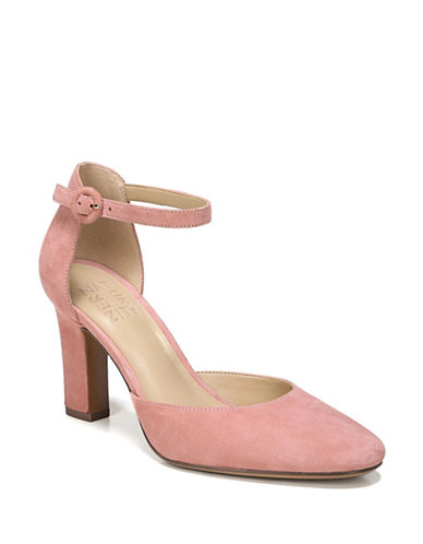 Naturalizer Gianna Suede Pumps-PINK-5
