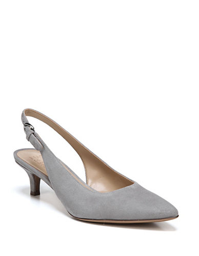 Naturalizer Peyton Sling Back Pumps-GREY-8.5