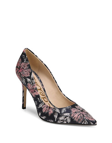 Sam Edelman Hazel Pumps-NAVY MULTI-9
