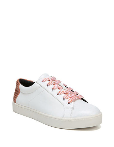 Circus By Sam Edelman Canvas Lace-Up Sneakers-WHITE-7.5