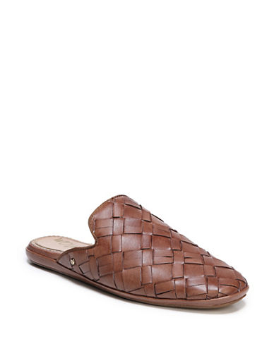 Sam Edelman Katy Leather Mules-BROWN-10