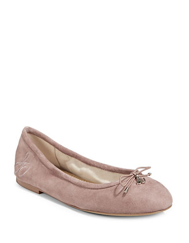 Sam Edelman Felicia Leather Ballet Flats-DUSTY ROSE-9.5