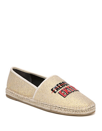 Circus By Sam Edelman Leni Slip On Canvas Shoes-BROWN-7.5