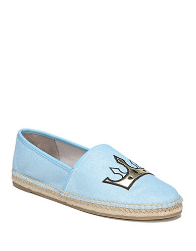 Circus By Sam Edelman Leni Queen Bee Espadrille Flats-BLUE-7.5