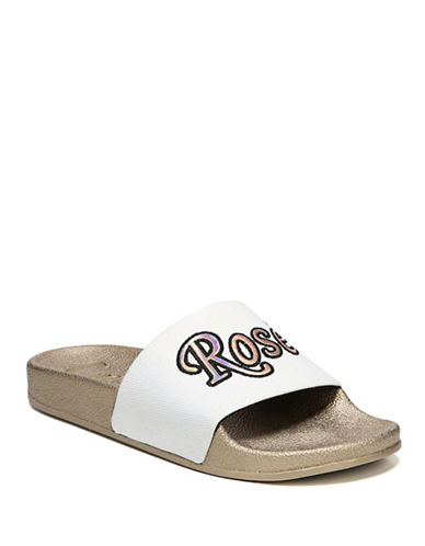 Circus By Sam Edelman Fynn Rose-Embroidered Rubber Slides-WHITE-8