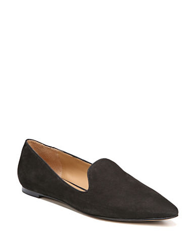 Franco Sarto Original Point-Toe Flats-BLACK-9.5