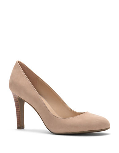 Franco Sarto Caspian Leather Pumps-LIGHT BONE-7
