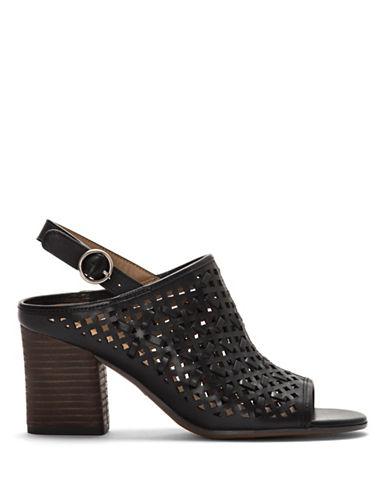 Franco Sarto Nanette Slingback Sandals-BLACK-8