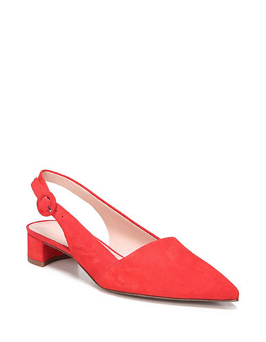 Franco Sarto Vellez Slingback Pumps-RED APPLE-6