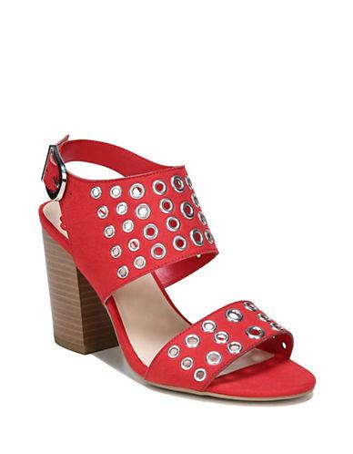 Fergalicious Jolene Grommet Sandals-TOMATO-6.5