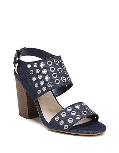 Fergalicious Jolene Grommet Sandals-DENIM-7.5