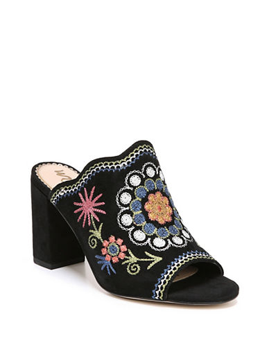 Sam Edelman Olive Embroidered Mules-BLACK-9.5