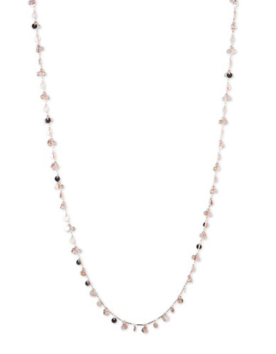 Lonna & Lilly Shaky Charm Necklace-ROSE GOLD-One Size