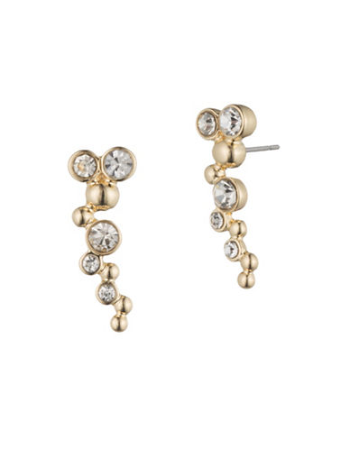 Lonna & Lilly Goldplated Studded Drop Earrings-GOLD-One Size