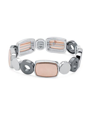 Nine West Sandy Treasure Stretch Bracelet-TRI TONE-One Size