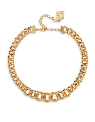 Anne Klein Goldtone Choker-GOLD-One Size