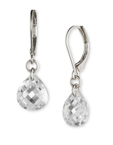 Lonna & Lilly Social Basics Drop Earrings-CRYSTAL-One Size