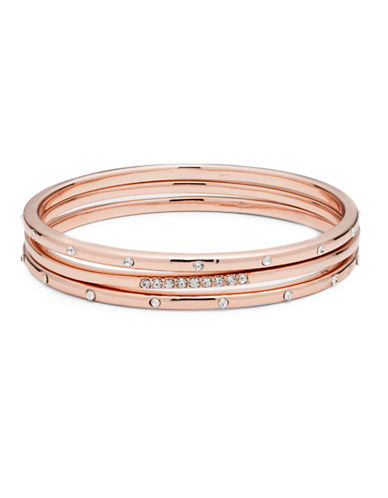 Anne Klein Studded Bangle-ROSE GOLD-One Size
