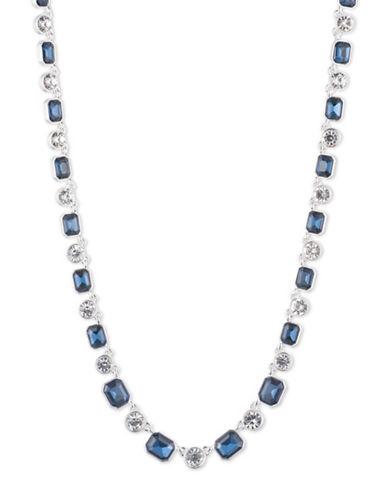 Anne Klein Bright Nights Strand Necklace-BLUE-One Size