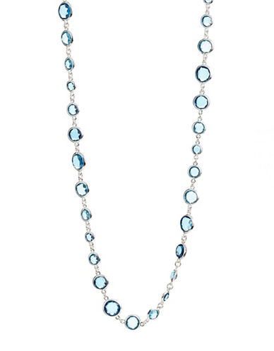 Cezanne Beacon Strand Necklace-BLUE-One Size