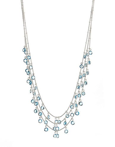 Cezanne Beacon Shaky Necklace-BLUE-One Size