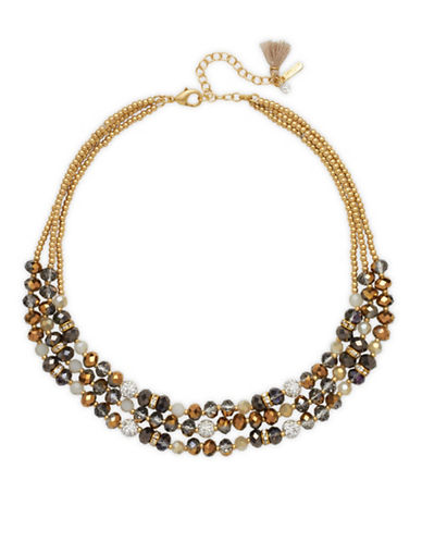Lonna & Lilly Crystal Frontal Necklace-MULTI-One Size
