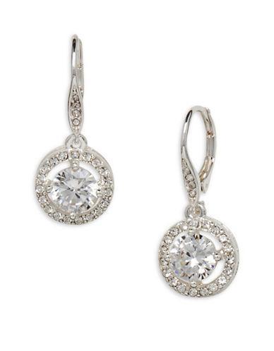Cezanne Crystal Drop Earrings-CRYSTAL-One Size