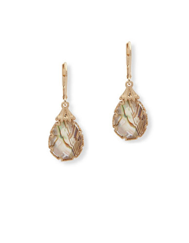 Lonna & Lilly Iridescent Skies Drop Earrings-MULTI-One Size